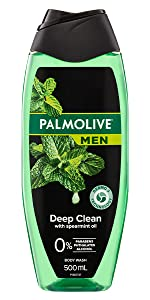 Men Deep Clean Body Wash With Spearmint Oil
