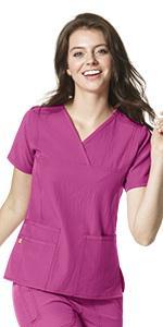 Stretch, WonderWink, Scrubs, Hospital, Uniforms, Tops