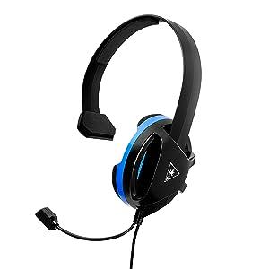 Auriculares Recon Chat de Turtle Beach para PS4 Pro, PS4