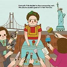 frida kahlo, little people big dreams