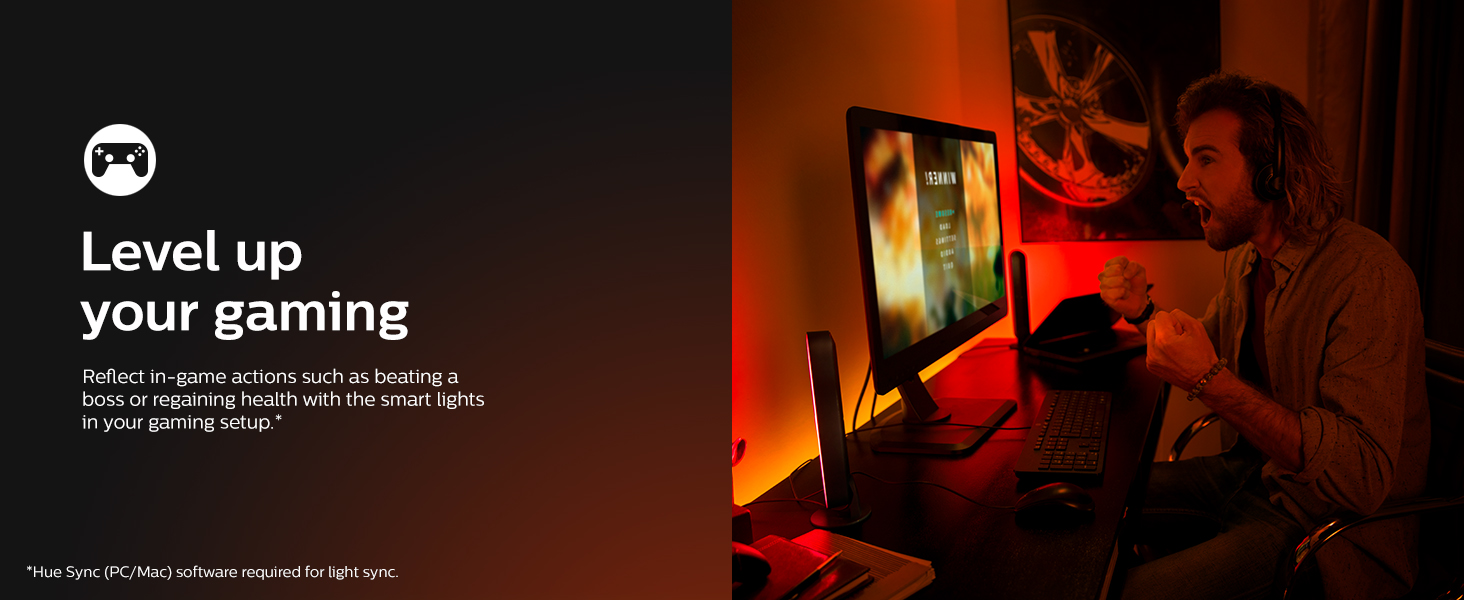 Hue Play Light Bars Level Up Your Gaming