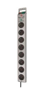 Brennenstuhl Super-Solid Line Regleta de 5 tomas negro/gris ...