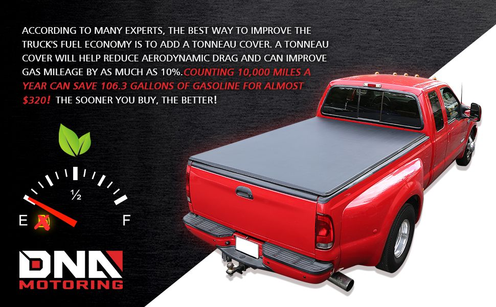 Dna Motoring Ttc Hard 043 Truck Bed Top Hard Solid Tri Fold Tonneau Cover Truck Beds Tailgates