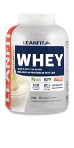 LeanFit Whey Protein with Whey Isolate