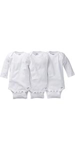 3 pack white onesie