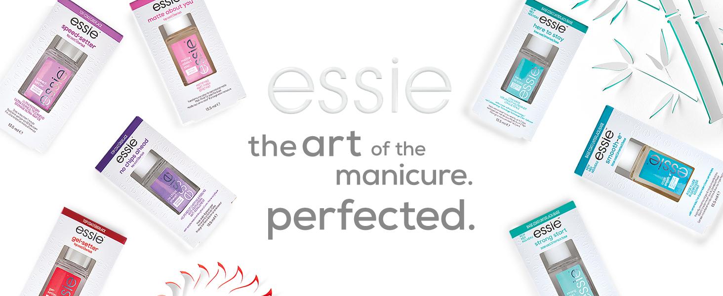nail care products, stronger nails, repair nails, damaged nails, essie nail polish