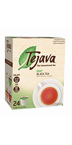 mint tea pods