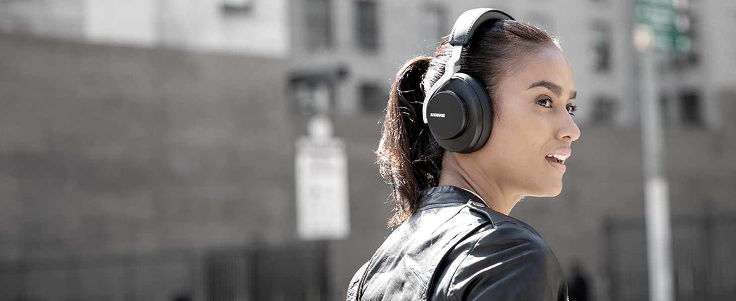 shure aonic 50 wireless headphones Environment Mode