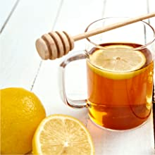 EVERYDAY WELLNESS with HONEY AND LEMON TEA