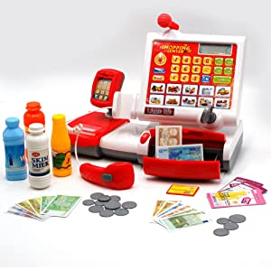 Tachan - Caja registradora electrónica (CPA Toy Group 74045550 ...