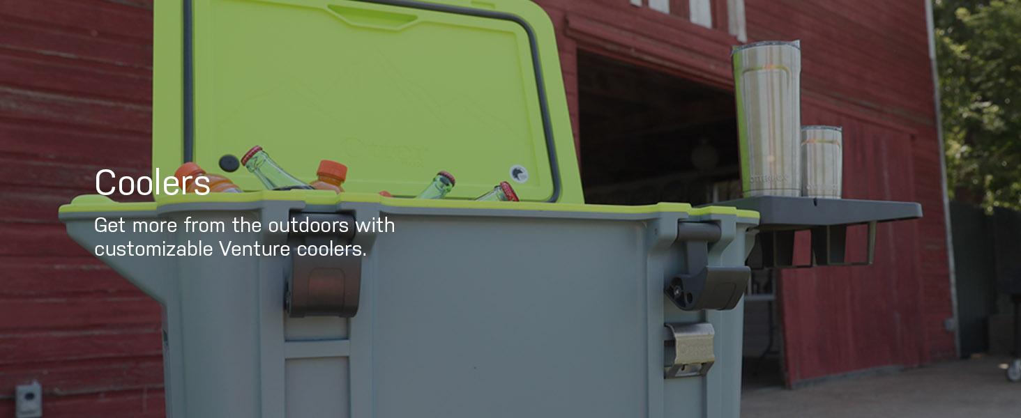 yeti, yeti, yeti cooler, igloo cooler, ottebrox, otterbox venture cooler