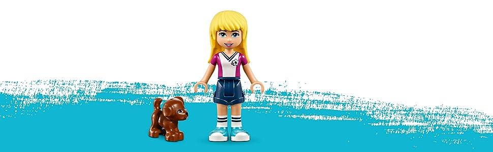 Amazon.com: LEGO Friends Stephanie's Soccer Practice 41330