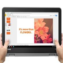Lenovo Flex 11 Chromebook 11.6-Inch HD IPS Touch Panel