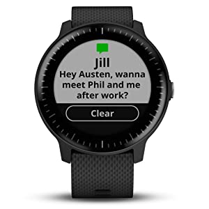 vivoactive 3 Music smart notifications