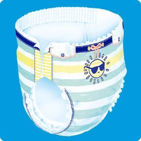 Dodot Splashers Pañales Bañadores Desechables - 4 Paquetes