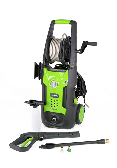 Amazon Com Greenworks 1500 Psi 1 2 Gpm Pressure Washer