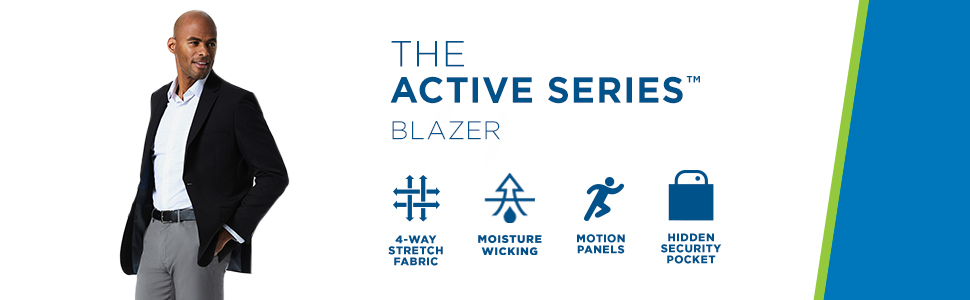Haggar, Active Series blazer, blazer, Haggar blazer, the active series, Haggar sportcoat, coat