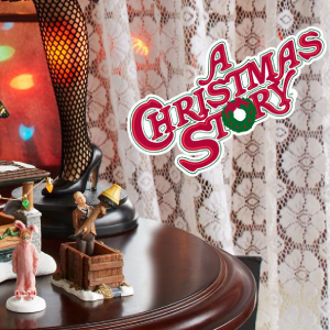 Department 56 A Christmas Story Village Logo