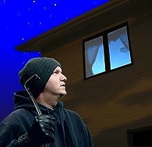 Burglar, Outside, Intruder, Deterrent, Light, Visual