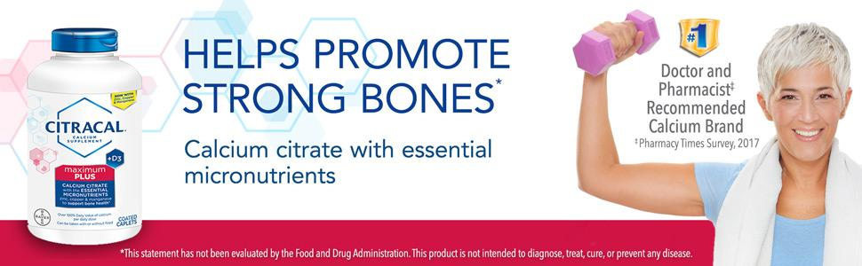 bone health advanced calcium carbonate supplement caplet citrical maximum +d3 bone density caltrate
