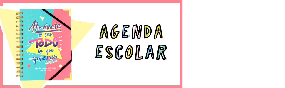 Agenda escolar 2019 2020 - Pedrita Parker