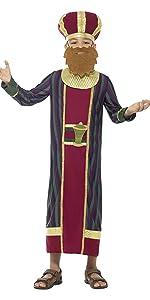 Smiffys-99340L Disfraz de ángel, con Vestido, cinturón y ...