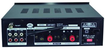 Amplificador bluetooth