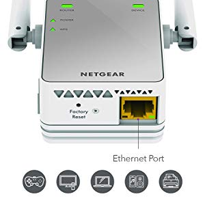 ethernet port connect wired device
