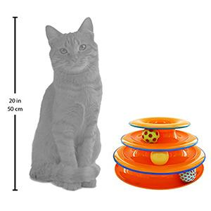 cat track toys, tower of tracks, track toys for cats, cat track toys, balls for cats, cat toys,
