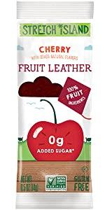cherry fruit leather