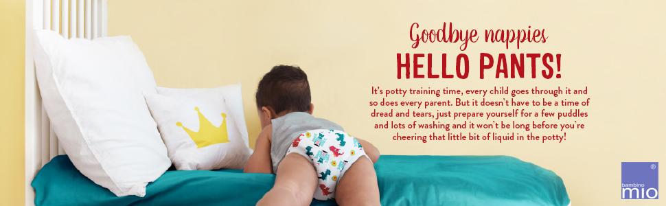 Bambino Mio potty training pants tips
