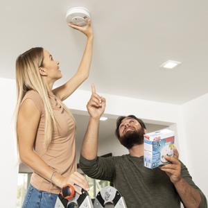 easy to install smoke alarm