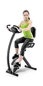 Marcy Foldable Recumbent Exercise Bike NS-653