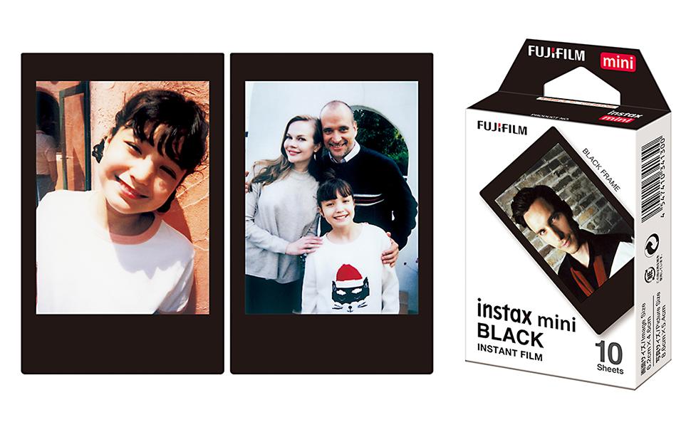 instax mini film black