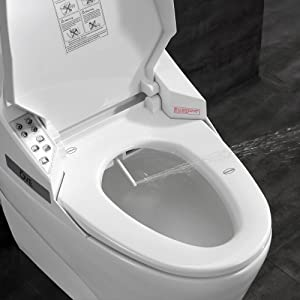 Ove Decors SMART TOILET Single Flush System and Heated Seat with