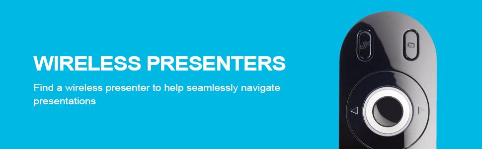 Presentation, Laser, Pointer, Presenter, Clicker, Remote, Wireless, Logitech, PowerPoint, Slide, Pen