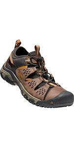 sandals closed-toe watemen's arroyo 3 closed toe breathable hiking casual flat slides flip flops
