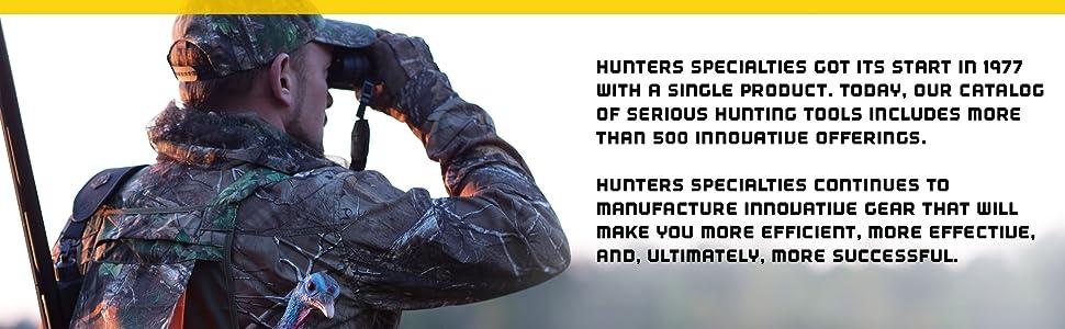Hunter Specialties History