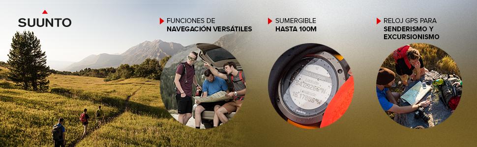 Suunto - Traverse - Reloj GPS Outdoor para excursionismo y ...