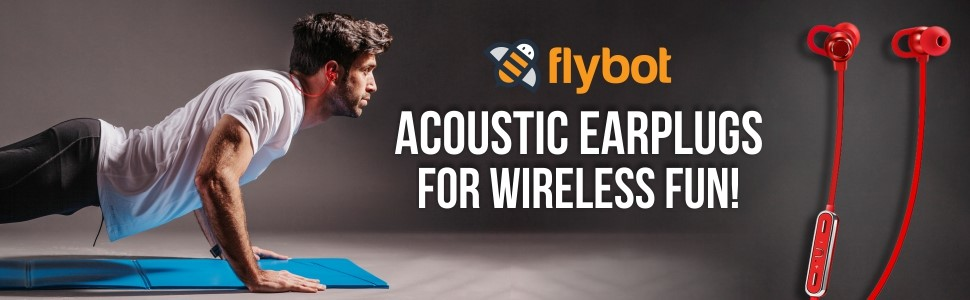 Flybot Boom Wireless Earphone (Black)