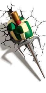 Amazon.com: 3DLightFX TMNT Leonardo Katana (3 piezas), color ...