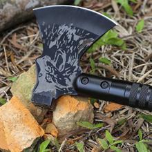 camp axe with sheath