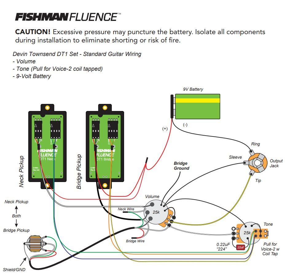 fishman wiring diagram wiring diagram schemes gretsch wiring diagram amazon  com fishman fluence signature series devin