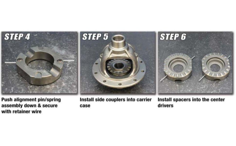Spartan Locker Installation Steps 4-6