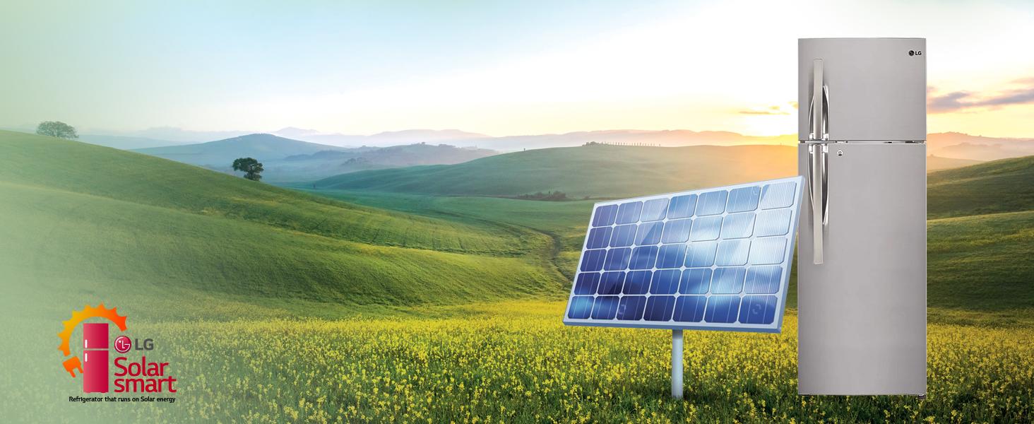LG Solar Smart Refrigerator