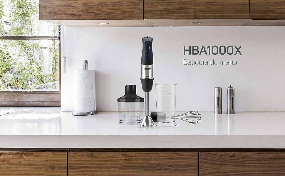 Taurus HBA1000X Batidora de mano, 1000 W, Plástico, Acero: Amazon.es: Hogar
