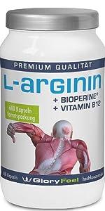 600 Kapseln L-Arginin