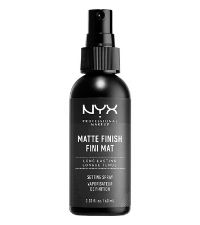 nyx setting spray matte finish face setter