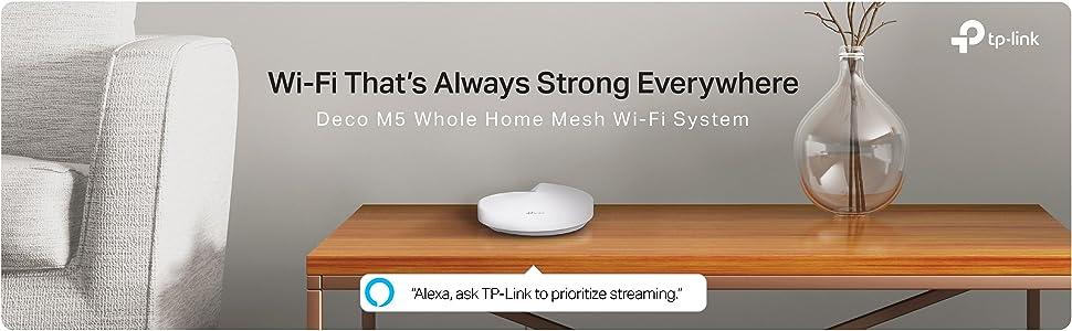 Deco, M5, Mesh, Whole Home WiFi, Antivirus, Router, Range Extender, IFTTT, TP-Link