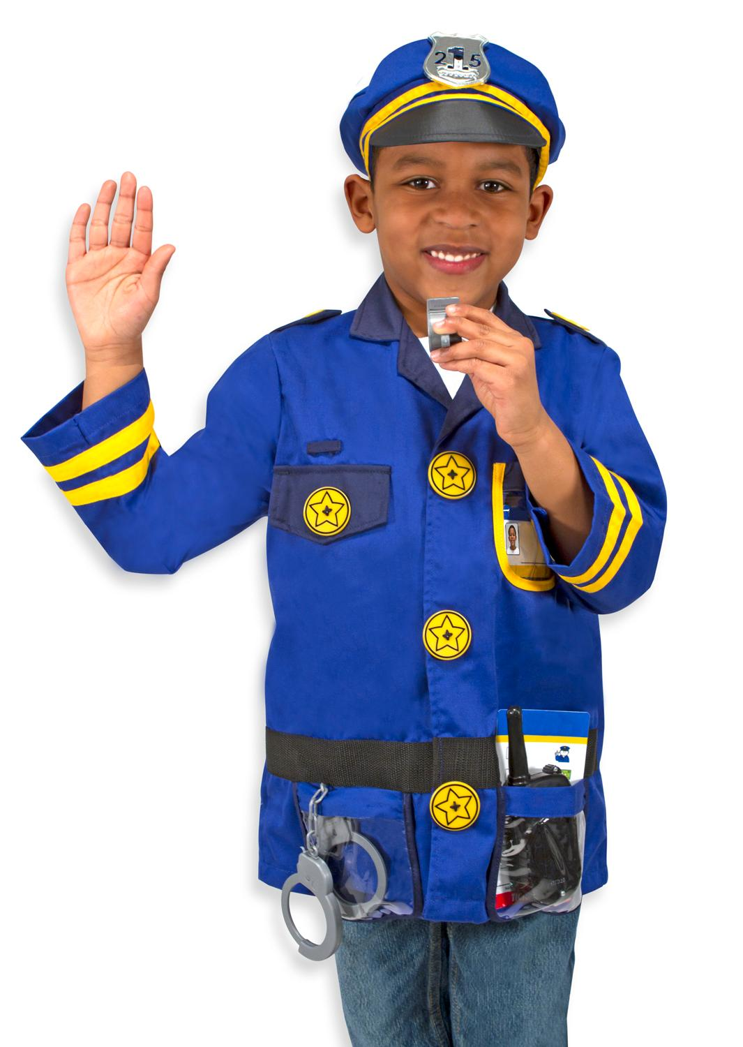 Kids Police Costume Amazon